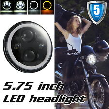 5.75 5 3/4 LED Headlight Sealed Projector DRL For Harley-Davidson Dyna Sportster