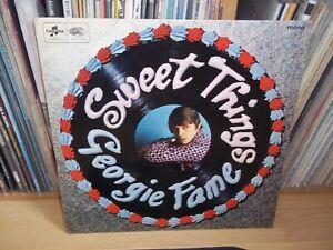 GEORGIE FAME Sweet Things UK 1966 COLUMBIA mono 1st Press MOD Beat LP Play Test