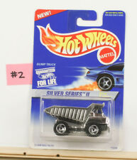 Hot Wheels Dump Truck Silver Series With Crome Dumper   B10