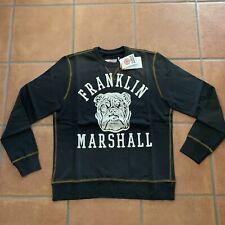 Felpa Tg M Franklin & Marshall Colore Nero Lavato
