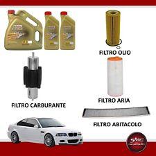 Kit tagliando olio CASTROL EDGE 5W30 6LT+4 FILTRI BMW 318D 320D E46 85 110 KW