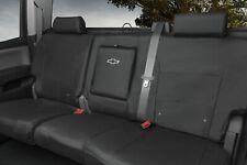 16-19 Silverado Rear Seat Cover- Crew Cab- 60/40 Seats- Black- GM New # 23443852