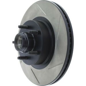 Disc Brake Rotor-RWD Front Left Stoptech 126.65083SL
