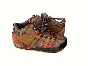 Xero Shoes DayLite Barefoot Lightweight Hiking Boot Mesquite/Rust Sz 6 Eur 36.5