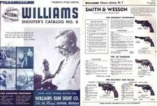 Williams 1957-58 Shooters Catalog No. 8 Guns, Sights Reloading etc.