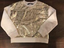 Original Marines Sweatshirt Gold Mädchen Gr. 6 Jahre, NEU!!!