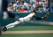 CAL RIPKEN JR IN THIS GREAT DIVING CATCH ACTION SHOT ORIOLES COLOR photo 8 x10