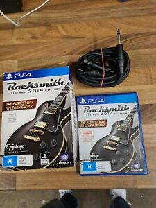 Rocksmith 2014 ps4 With Cable