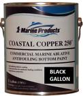 Marine Coastal Copper 250 Ablative Antifouling Bottom Boat Paint Black Gallon