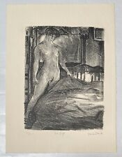FRANK STACK untitled ARTIST PROOF original lithograph  Signed nude woman