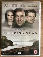 The Shipping News DVD 2001 Drama with Kevin Spacey + Judi Dench + Julianne Moore