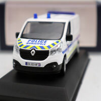 1/43 RENAULT Trafic of 2014 Police Municipale White Window Diecast Models NOREV