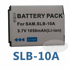 SLB-10A Battery Pack for Samsung P1000 P800 PL50 PL60 NV9 WB700 WB750 Camera
