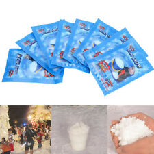Pack Instant Snow Artificial Fake Snow Christmas Xmas Wedding Themed Parties 10*