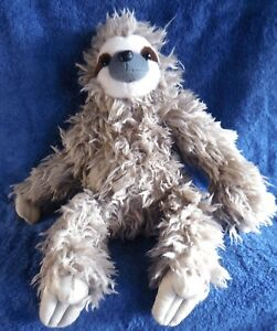 *1810c*  Three Toed Sloth  - plush - 30cm - K & M International - Wild Republic