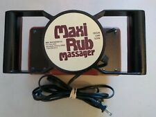 Maxi Rub Professional 2-Speed Full Body Personal Massager TESTED
