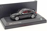 BMW 2 Series Coupe (F22) schwarz 1:43 Minichamps
