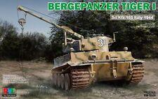 Ryefield-Model 1/35 RM5008 Bergepanzer Tiger I Sd.Kfz.185 Italy 1944