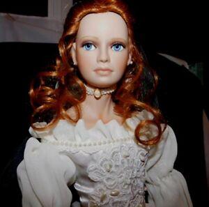 "Beautiful Paradise Galleries VICTORIA BRIDE 20"" DOLL NIB Pearl Encrusted Gown"