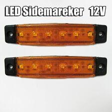 2x 12V LED SMD Arancio Ambra FARI INDICATORE LATERALE FRECCE PER PEUGEOT