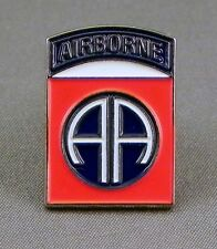 82nd AIRBORNE - LAPEL PIN BADGE - UNITED STATES ARMY AIRCRAFT FIGHTER   (DB-20)