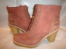 UGG AUSTRALIA SOFIA CINAMON LEATHER WOMEN BOOTS 3213 100% AUTHENTIC OR YOU $BACK