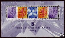 Grande-Bretagne 2004 Écossais Parlement Miniature Feuille Fin D'Occasion