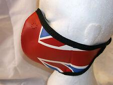 Motrax visage masques Union Jack S-M moto coiffures