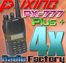 4x Puxing PX-777 plus UHF400-470MHZ + cable