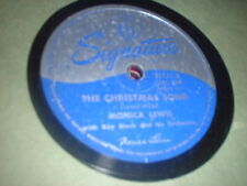 78RPM Signature 15151 Monica Lewis, The Christmas Song / White Christmas  V