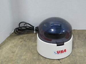USA Scientific IR-110 Laboratory Micro Centrifuge w/ 8-Tube Rotor 6000 RPM