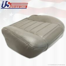2003 to 2007 Hummer H2 PASSENGER Bottom Genuine Leather Seat Cover Wheat Gray