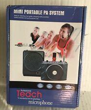 Mini Portable PA System