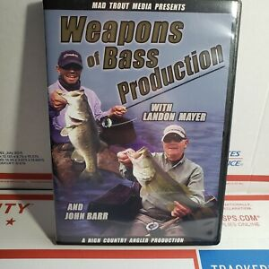 Weapons Of Bass Production Fishing DVD. Opened DVD case but New Disk. Fast Ship!