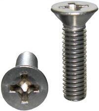 Stainless Steel Flat Head machine Screws 8-32 x 1/4