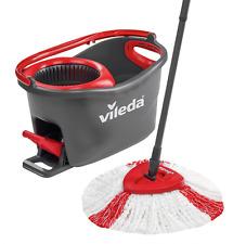 Vileda Easy Wring and Clean Turbo in Microfibra scopa e Secchio Set SPIN TESTE PAVIMENTO