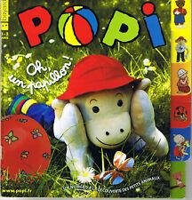 POPI * Lapin petites bêtes comptines * revue n° 298 léo petit ours brun