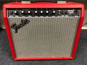 Fender Frontman 25R Guitar Combo Amplifier Special Edition Red Tolex