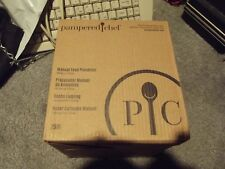 The Pampered Chef All New Manual Food Processor Chopper New 2581