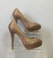 Faith Stiletto 100% Leather Court Heels for Women
