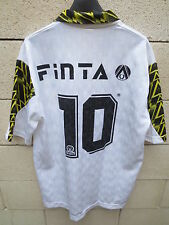 VINTAGE Maillot GREMIO ESPORTIVO NOVORIZONTINO porté n°10 Finta match worn shirt