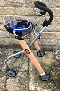 Trust Care walking aid rollator with Front Bag & Removable Hot Drinks Holder