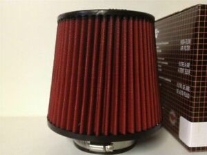 """K&N style pod filter 4"""" neck 6"""" long tapered high performance(non genuine)"""