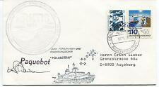 1988 Arktis AWI Bremerhaven DFVLR Polarstern Uni Polar Antarctic Cover SIGNED