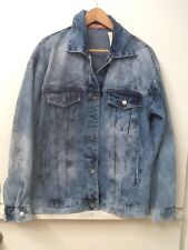 Forever 21 Women's Thirty 6 Point 5 Denim Jean Jacket New NWT L Large