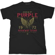 Deep Purple 'Highway Star' (Black) T-Shirt - NEW & OFFICIAL!