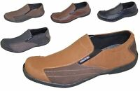 Mens Slip on Mocassin Boat Deck Comfort Walking Loafers Driving Casual Shoes