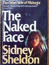 The Naked Face by Sidney Sheldon Paperback Book FREE USA SHIPPING sydney CHEAP!
