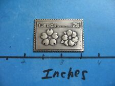 CANADA JAPAN EXPO 1970 ANTIQUE 999 SILVER COIN BAR COMMEMORATIVE OF STAMP #M