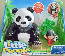 NEW  FISHER  PRICE  LITTLE  PEOPLE  BIG  ANIMAL  ZOO  GIANT  PANDA
